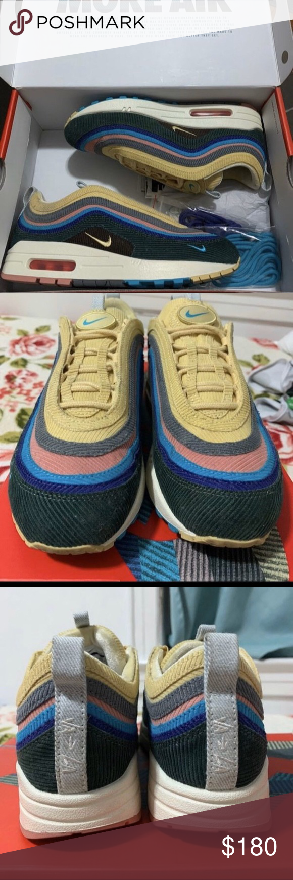 Air Max Sean Wotherspoon All Sizes 713 Authentic (OG ALL