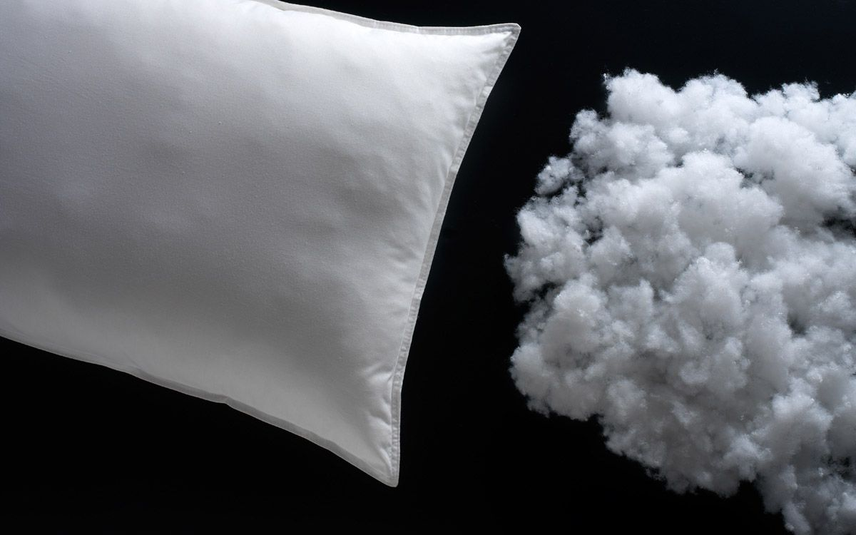 """Anti-Housemite pillow  by Flou. The filling in polyester padding and ticking are 100% pure cotton treated with the""""AEGIS""""system to permanently resist the house mite and other microbes. They are very soft and are excellent for allergy sufferers. Dermatologically tested // Guanciale Antiacaro. Imbottitura in poliestere e fodera di rivestimento in puro cotone con trattamento antimicrobico permanente""""AEGIS"""". Molto soffice, ottimo per chi soffre di allergie. Dermatologicamente testato #wellness…"""