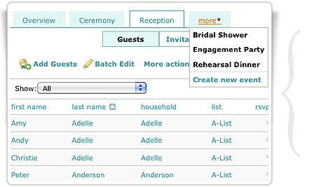 Build Your Wedding Guest List And Easily Keep Track Of Attendance