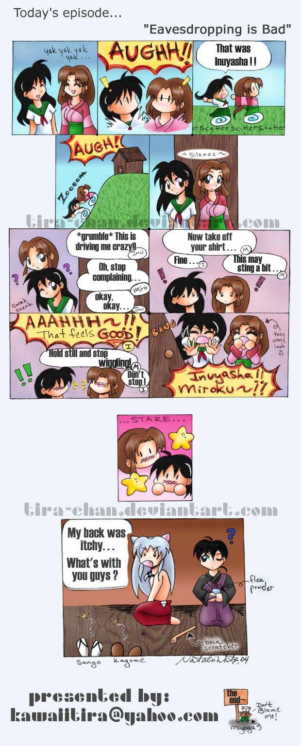 Mini Inuyasha Comic 2 By Tira Chan On Deviantart Inuyasha Anime Funny Inuyasha Funny