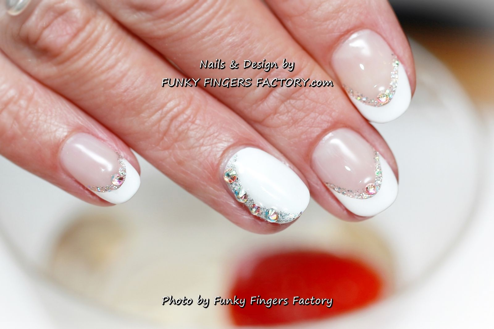Manicure Gelish Wedding French