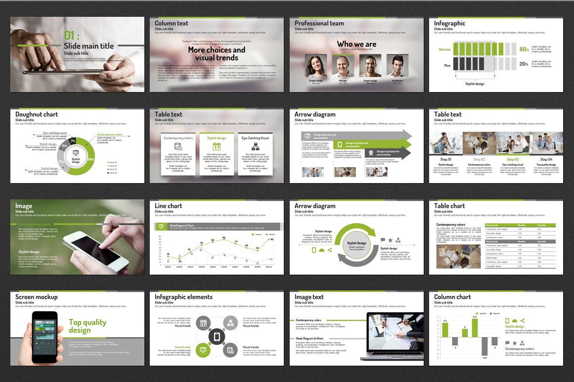 Information Technology PowerPoint Template #98560