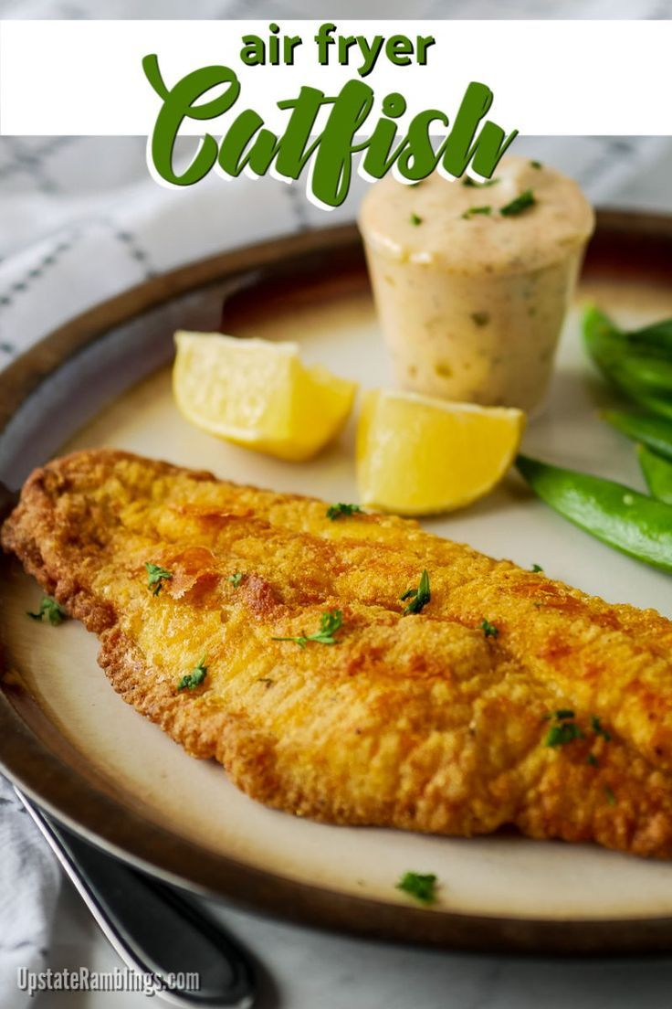 This easy air fryer catfish recipe lets you quickly fry up