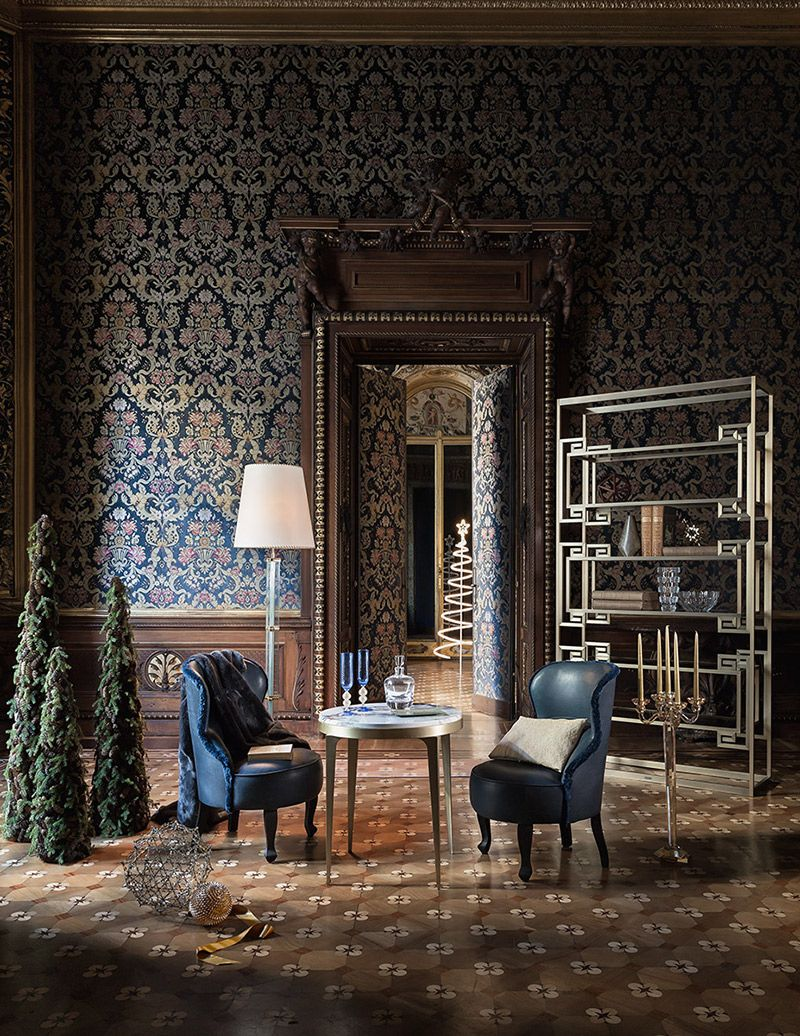 GIANFRANCO FERRE HOMEThe Brass And The Bronze Of Dalston Shine In Princely Rooms Th