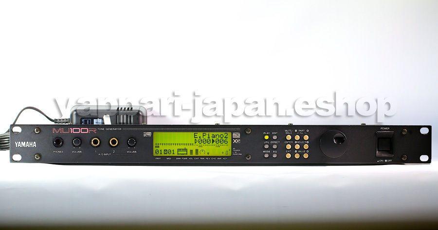YAMAHA MU100R Tone Generator XG New Memory Battery AC100-240V(50