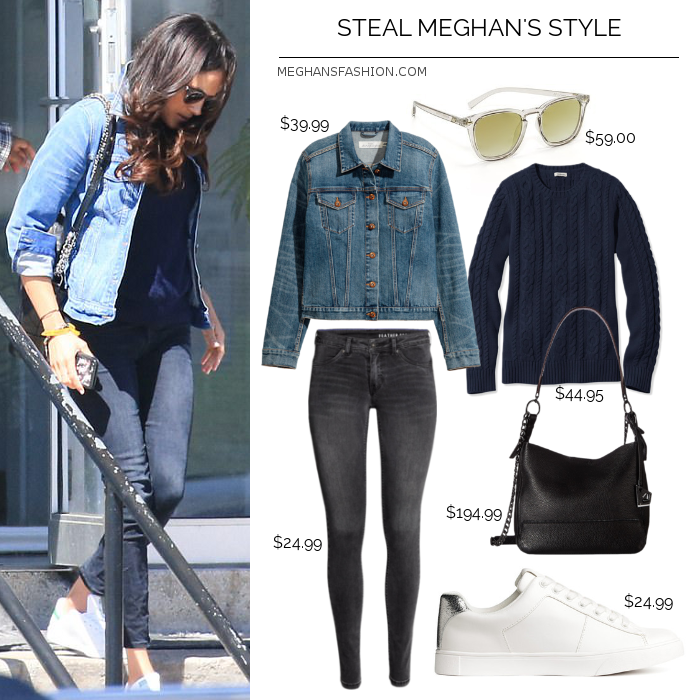 Steal Meghan Markle's Double-denim Style For Less