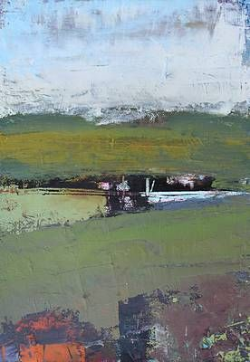 Glenade High Summer By Irish Contemporary Artist Cormac O Leary Paesaggi Astratto Arte