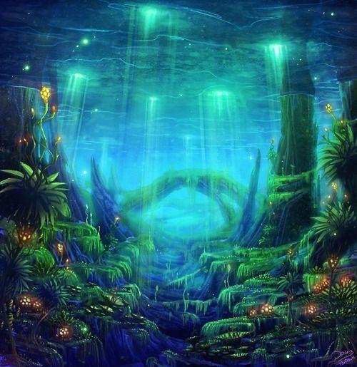 Underwater Sea Trippy Pictures