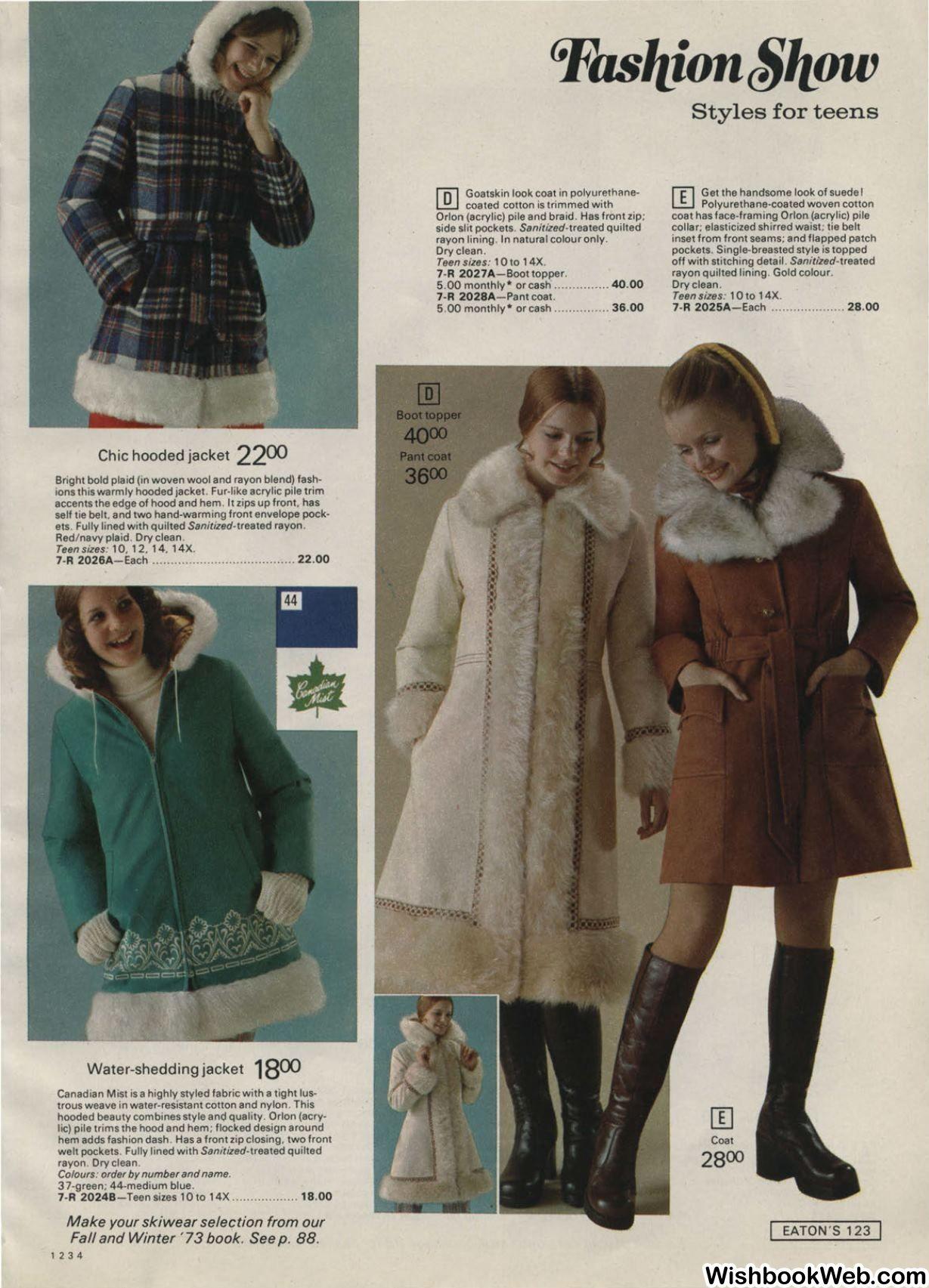 1973 Eatons Christmas Catalog