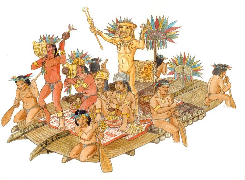 Suku Muisca dan Legenda El Dorado