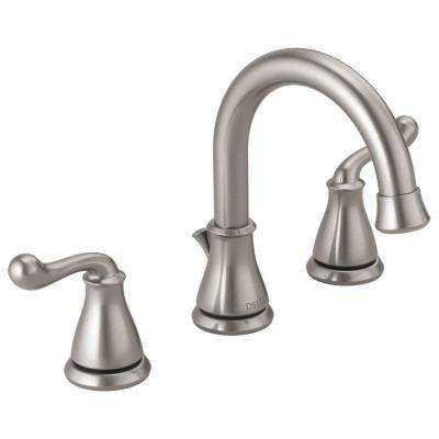 Photo of Delta Southlake 8 in. Widespread 2-handle bath mixer made of brushed nickel-35755LF-SS – The Home Depot