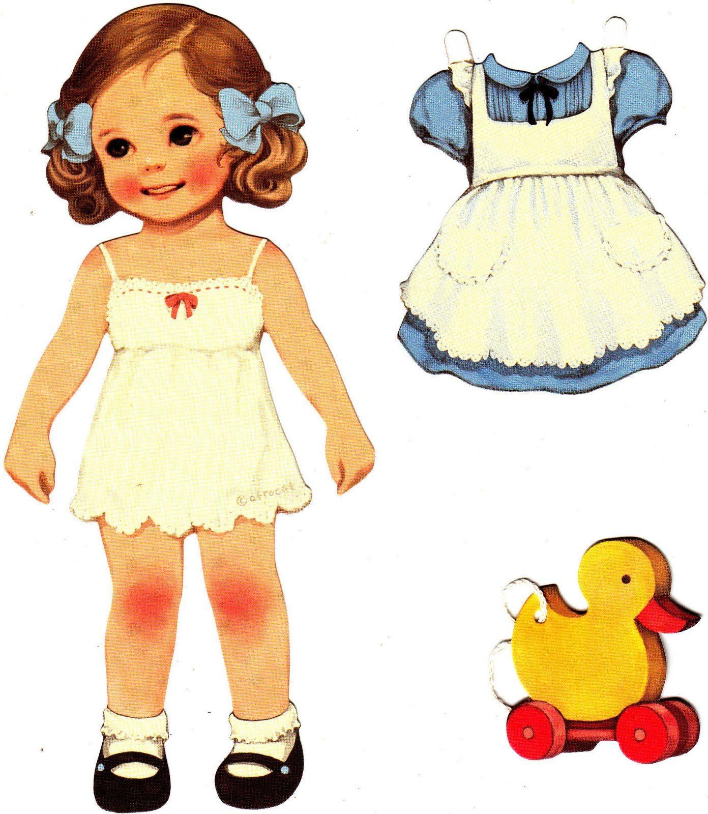 Paper Doll Mate Bonecas De Papel Vintage Bonecos De Papel Bonecas