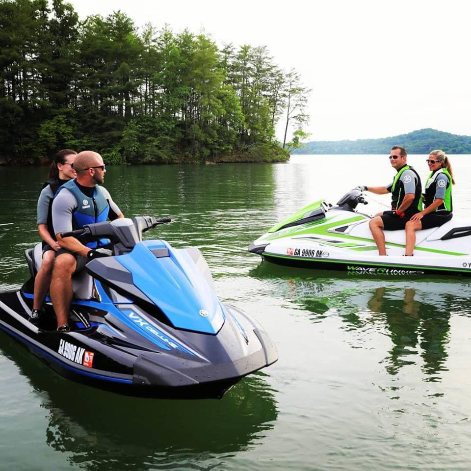 Double Date The Best Thing About Owning A Waverunner Is Making Memories With Friends And Family Yamaha Waverunner Yamaha Jet Ski