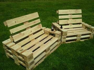 Europalette : Stuhl aus Europaletten - Palettenmöbel in Nordrhein ...