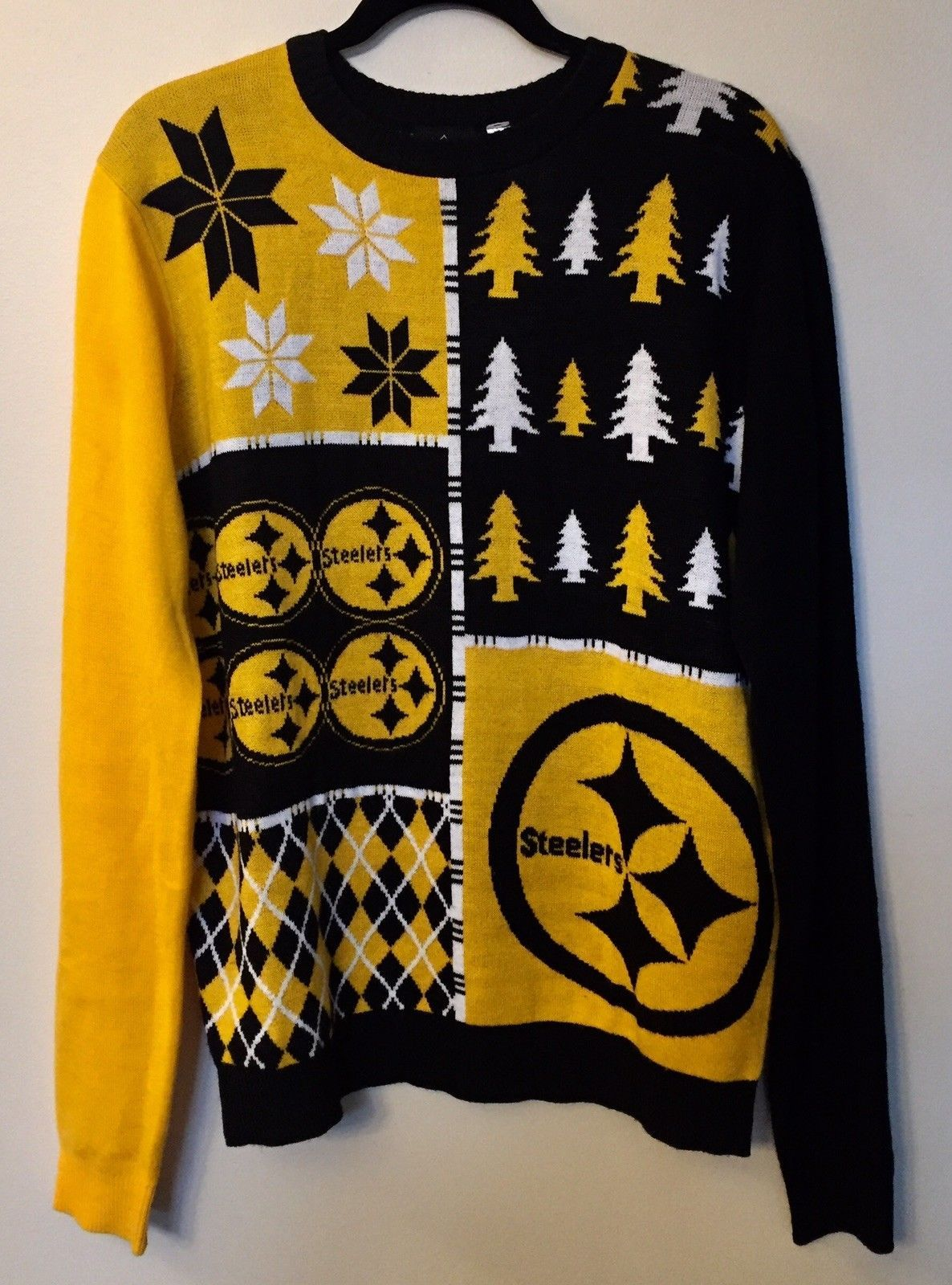 Ugly Christmas Sweater Nfl Green Bay Packers Patches Football