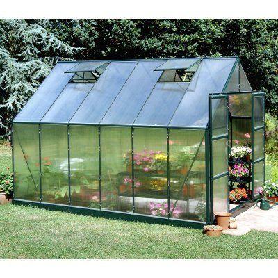 Halls Magnum Green 8 X 12 Foot Greenhouse Kit By Halls 2999 99