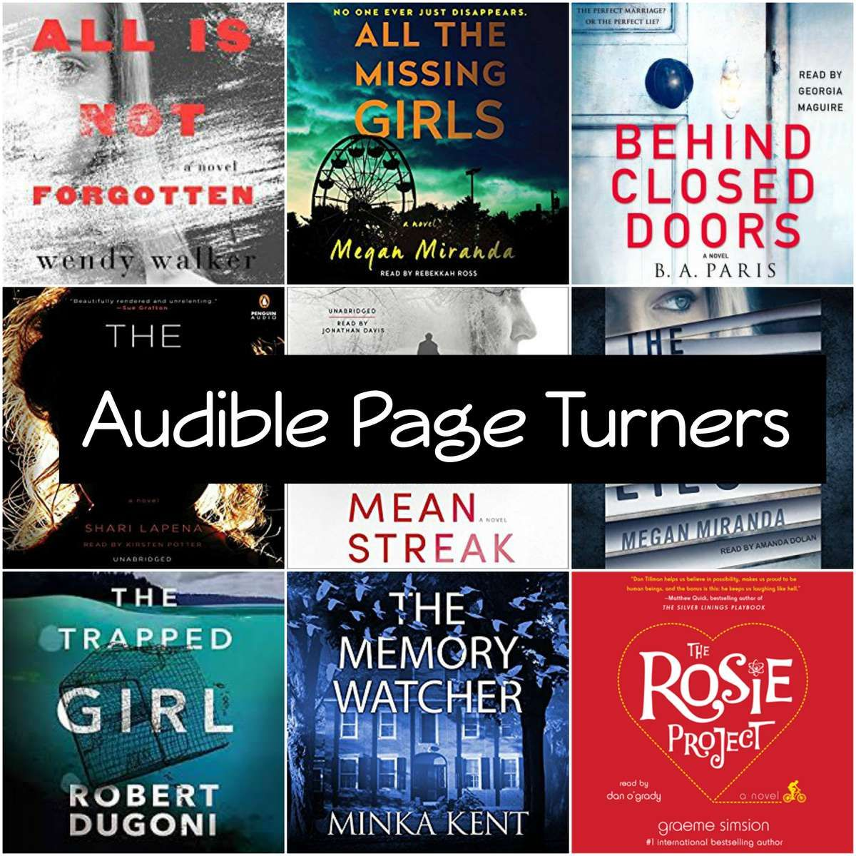 Top 7 Best Ever Audiobook Page Turners You Won T Be Able To Stop Listening Best Suspense Books Suspense Books Audio Books