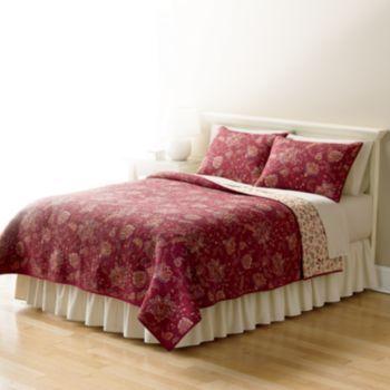 Home Classics Sarah Jacobean Quilt Coordinates Glamping