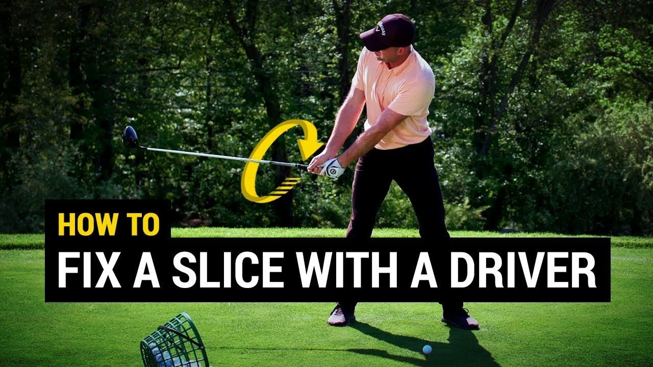 How to fix a slice with a driver so simple golf
