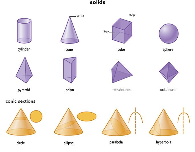 definition of prism - Google Search | Basic: Geometry | Pinterest ...