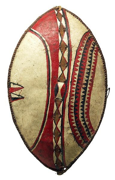Maasai Shield 101,Kenya | Art Crush in 2019 | African art