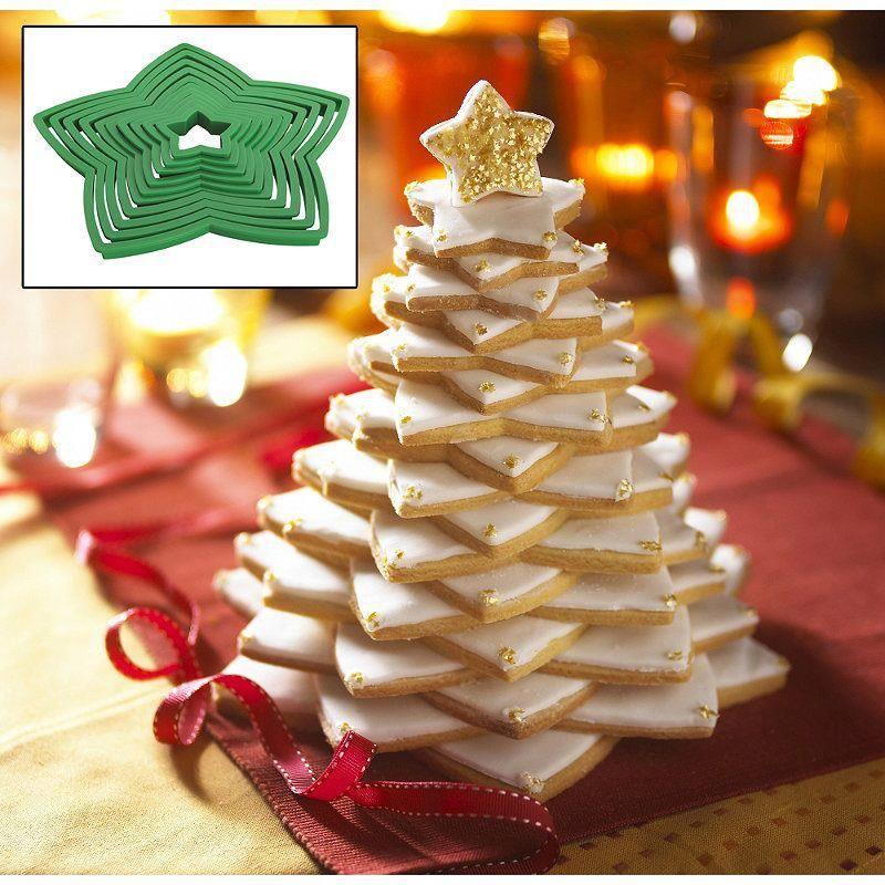 Vanilla Christmas Cookie Tree Recipe Christmas Winter Recipes