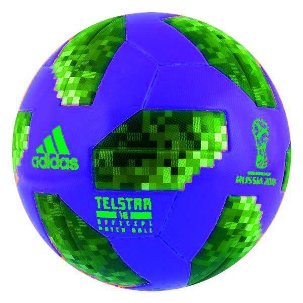 adidas Telstar 18 World Cup Glider Ball (Blue) ce27b0ae348ba