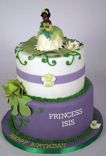 Brilliant Princess And The Frog Cake Toronto Frog Cakes Princess Tiana Personalised Birthday Cards Veneteletsinfo