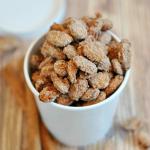 Cinnamon Sugared Almonds try chestnuts?