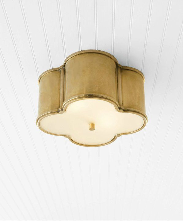 Visual Comfort Basil Flush Mount Please Contact Us For