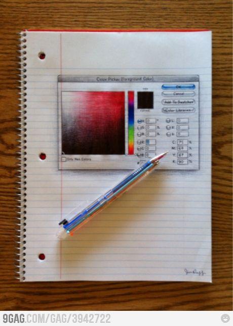 Awesome Drawing Is Awesome Drawing Cool Drawings Color Picker