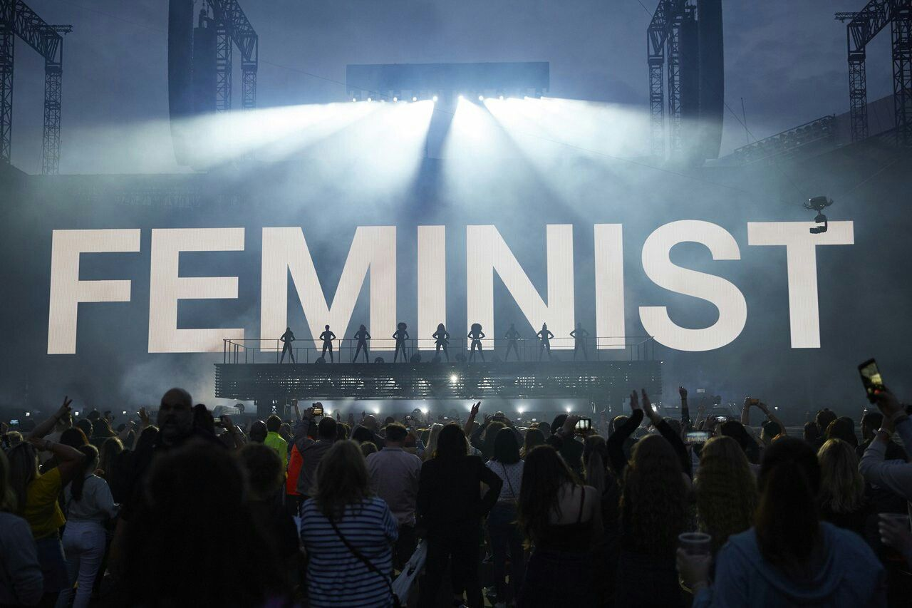 Feminist A Person Who Believes In The Social, Political -8115
