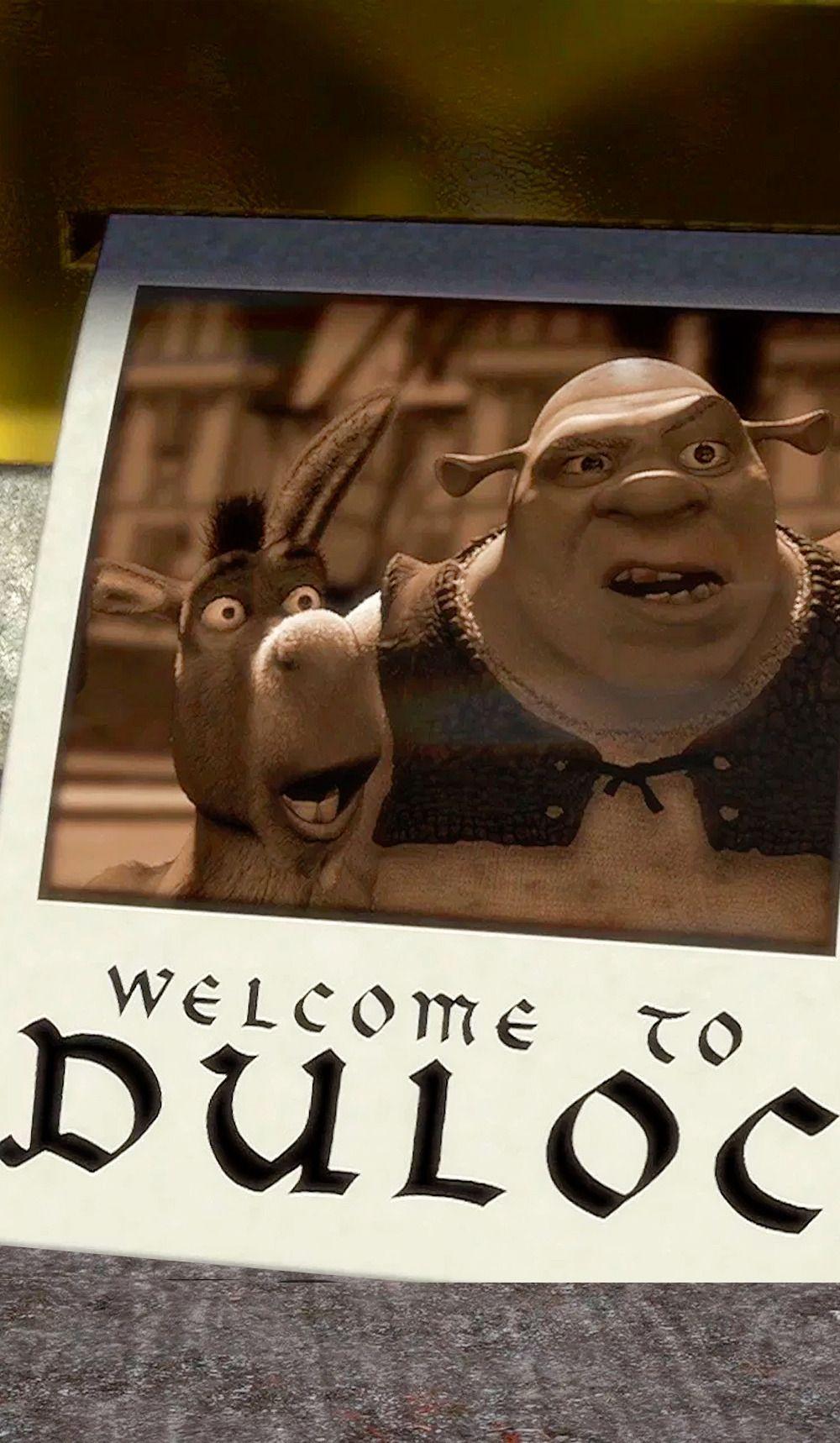Shrek (2001) Wallpaper (con imágenes) Fondos de