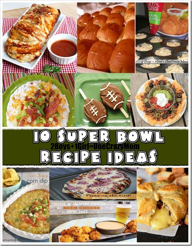 Get Ready For The Day With 10 Delicious Super Bowl Recipe Ideas