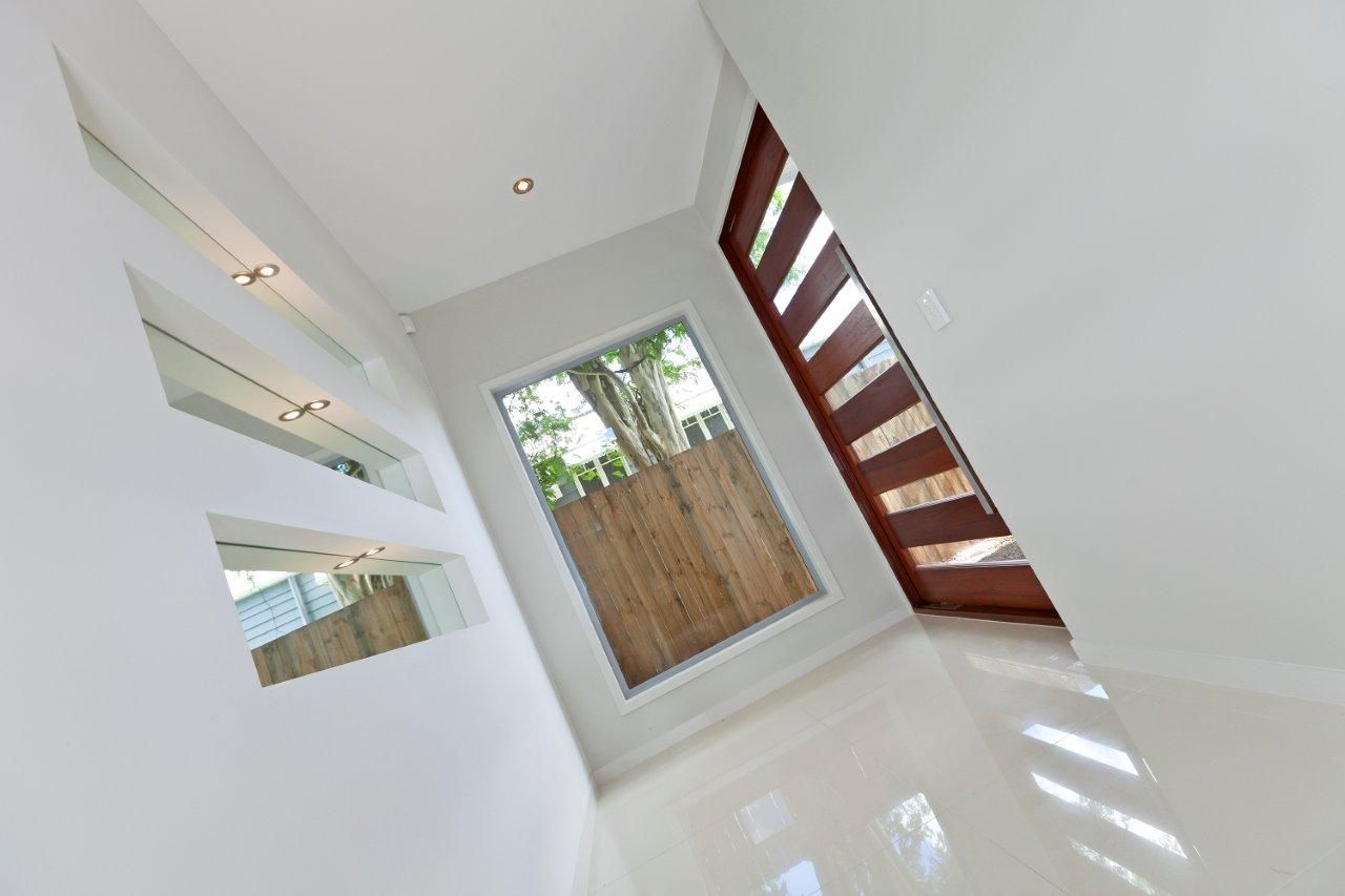 Best Kitchen Gallery: Entry Foyer In New Home Brisbane This Modern Home Needed A of Make New Home Entry on rachelxblog.com