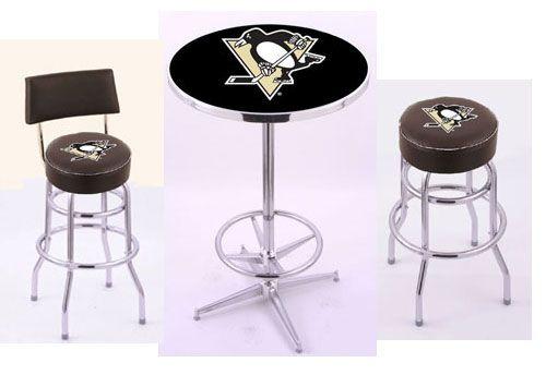 Pittsburgh Penguins Bar Stools \u0026 Bar Tables Sets at LogoProducts4Less.com  sc 1 st  Pinterest & Pittsburgh Penguins Bar Stools \u0026 Bar Tables Sets at ...