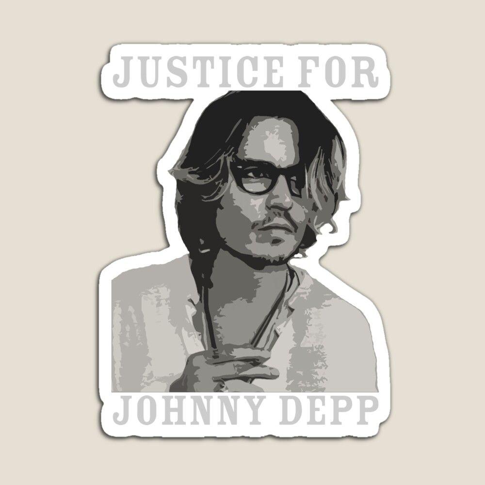 Justice For Johnny Depp Magnet