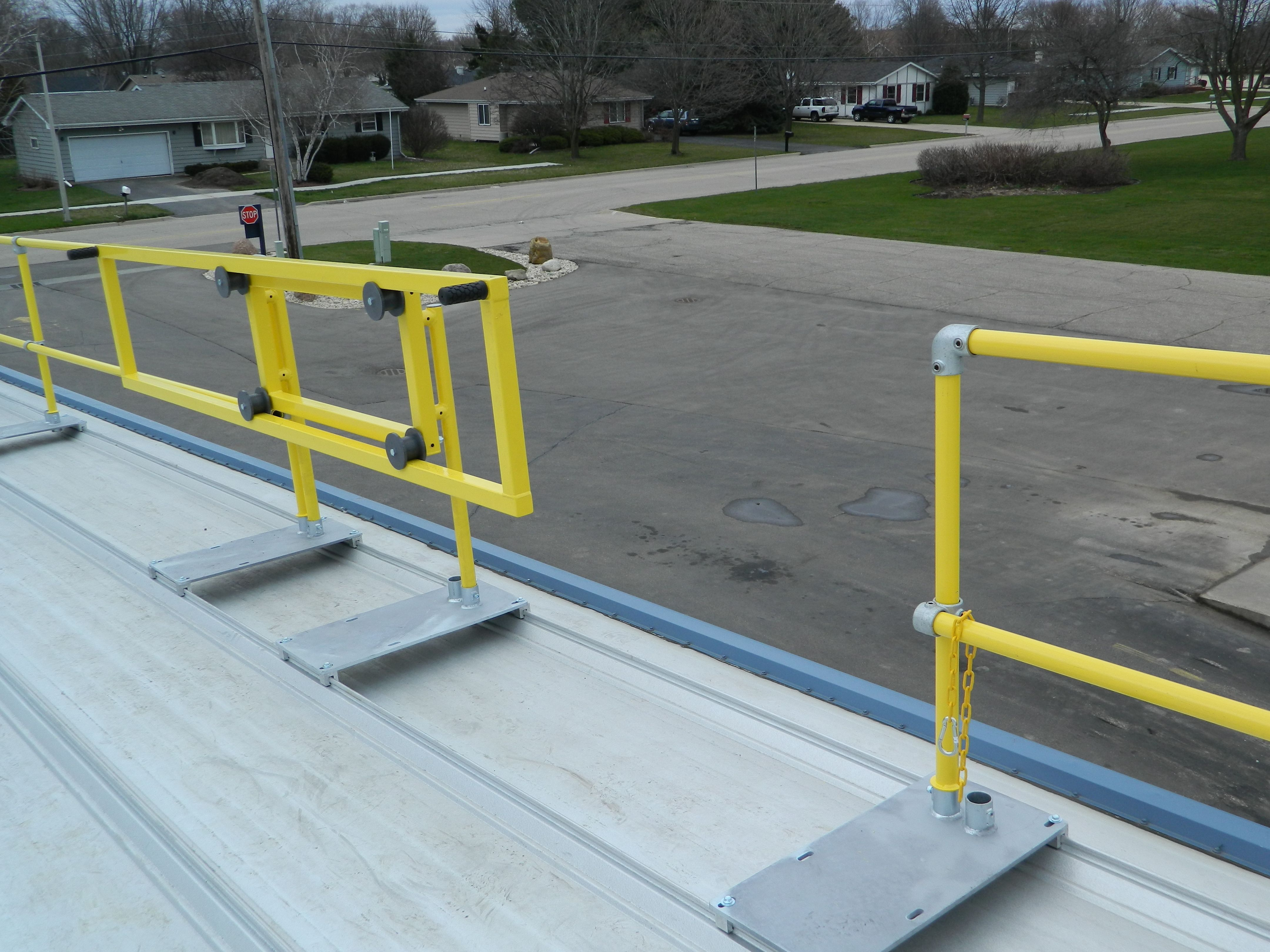 Pin On Metal Roof Guardrail