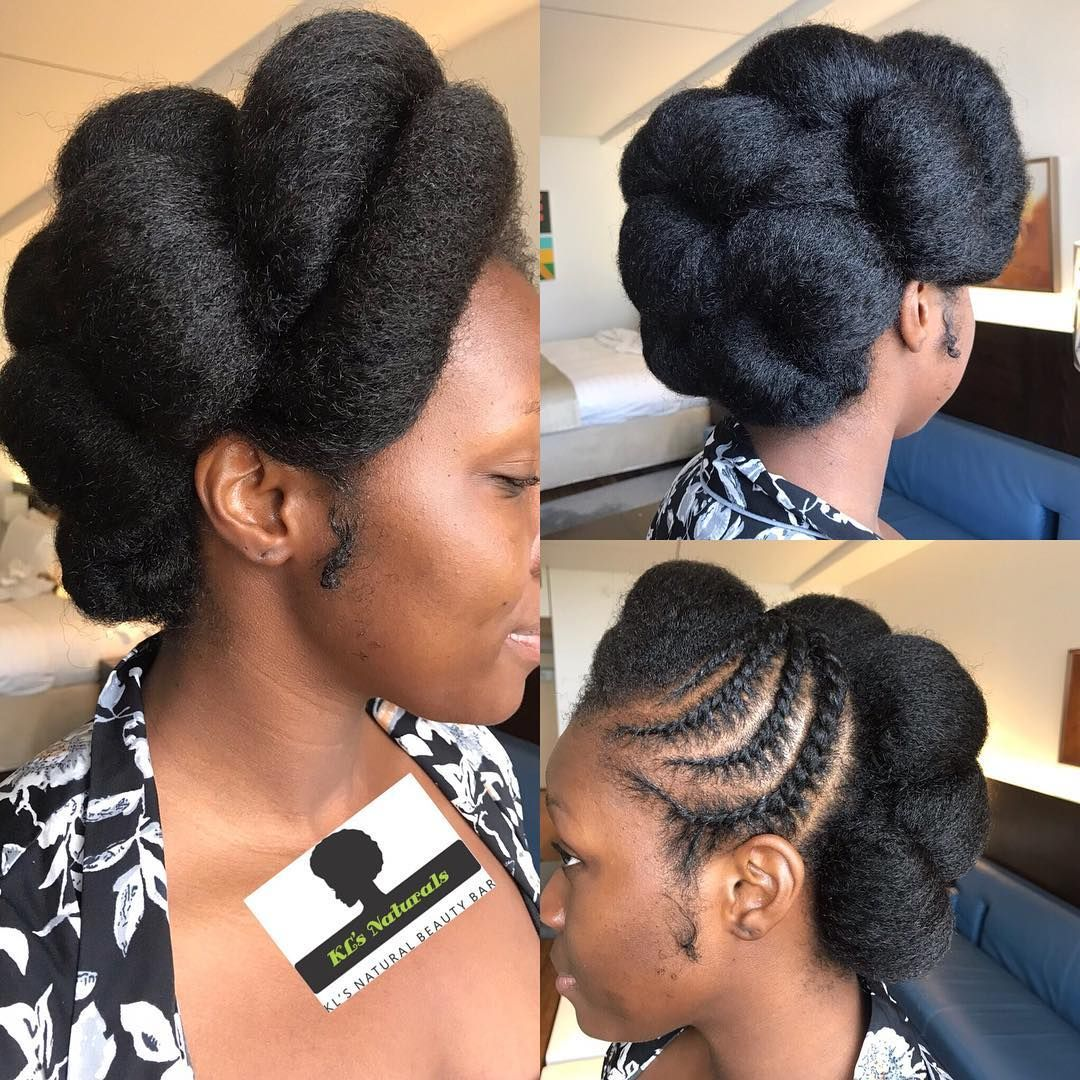 Beautiful Dawn Hair Styled For Her Traditional Wedding More Pictures Coming Of H Natural Wedding Hairstyles Natural Hair Wedding Hair Styles