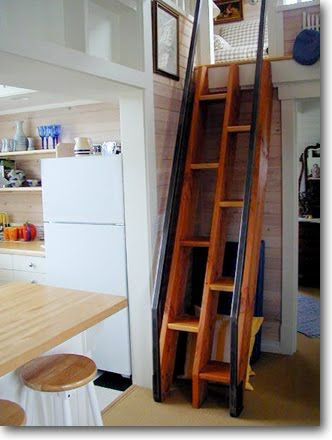 Small Scale Homes Space Saving Stairs Ladders For Small Homes Tiny House Stairs House Stairs Stair Ladder