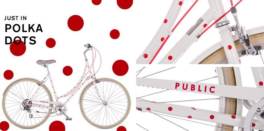 PUBLIC Bikes Classic European city bikes designed for today