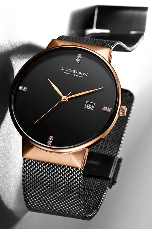 Diamond Men S Minimalist Watch Mens Watches Affordable Stylish Watches Men Luxury Watches For Men [ 1500 x 1000 Pixel ]