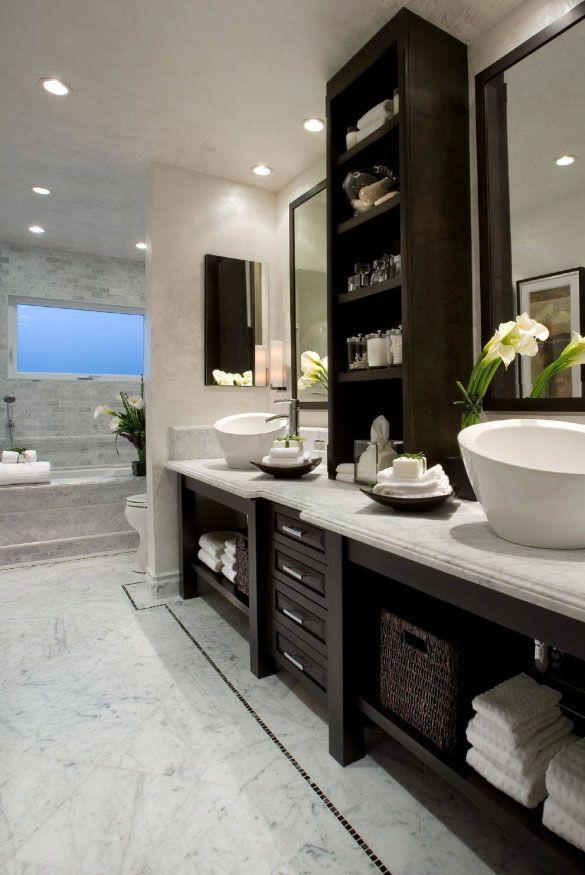 33 Custom Bathrooms To Inspire Your Own Bath Remodel Spa Inspired Bathroom Traditional Bathroom Bathroom Inspiration