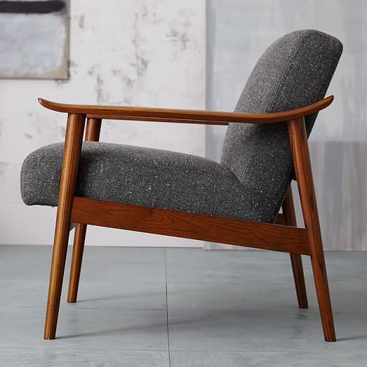 Awesome Mid Century Show Wood Chair