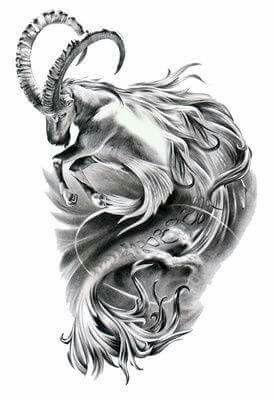 Capricorn Special Edition Signed Fine Art