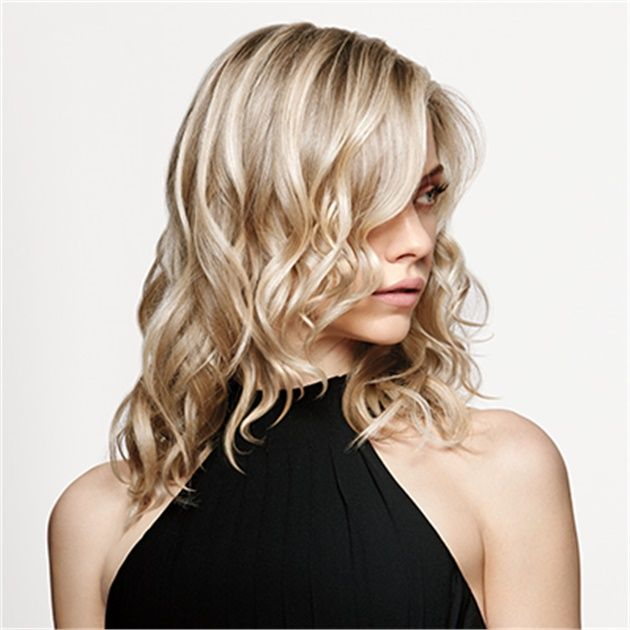 Winter Hair Color Trend Icy Blonde Balayage How To Hair Color