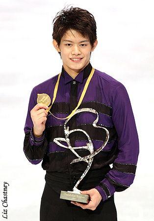 Takahiko Kozuka (JPN) Gold