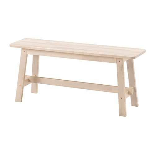 Norraker Bench White Birch Ikea Ikea Bench Cafe Furniture