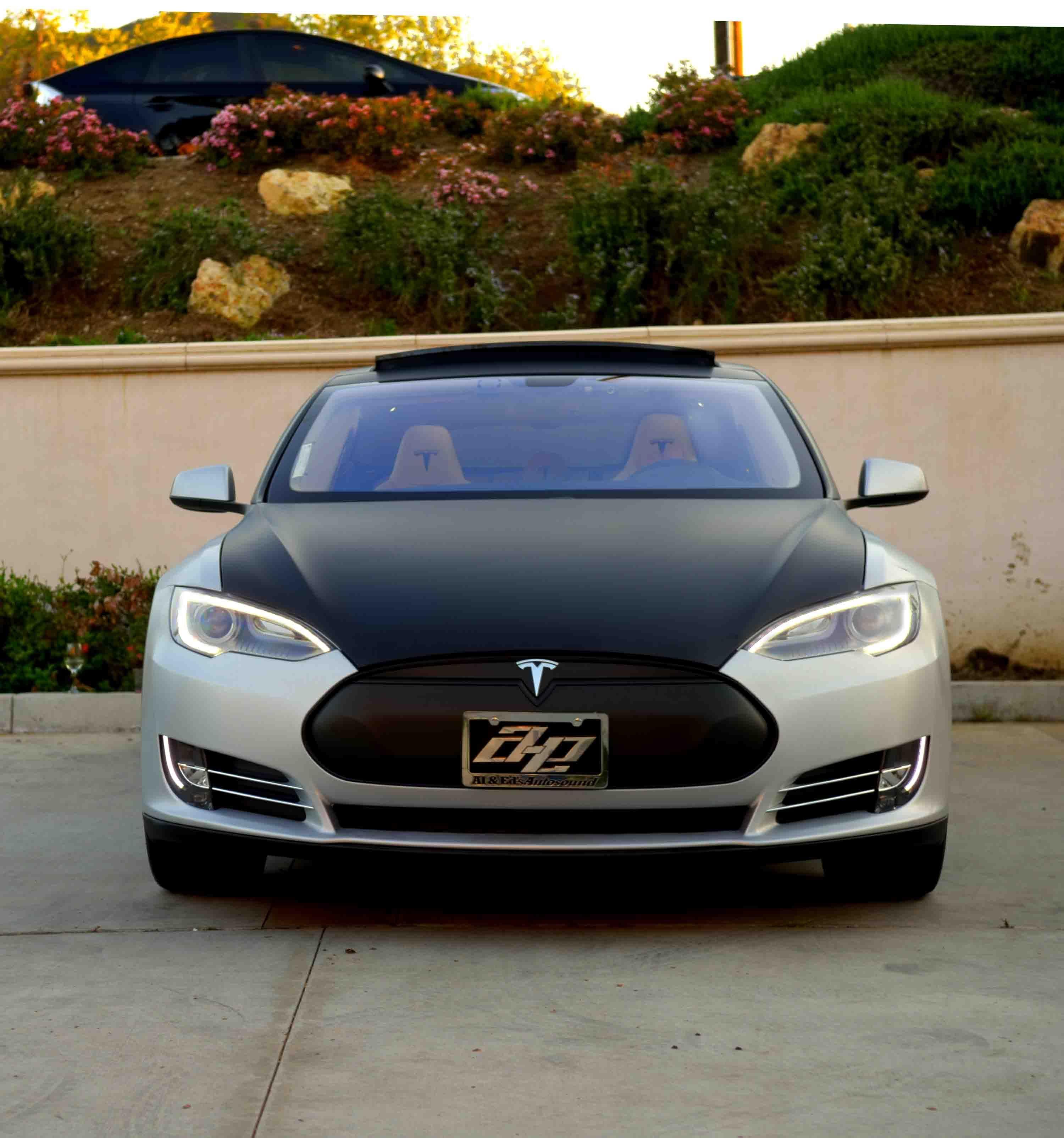 Discover Ideas About Tesla Roadster Pinterestcom: Two Tone Wrapped Tesla Model S - Google Search