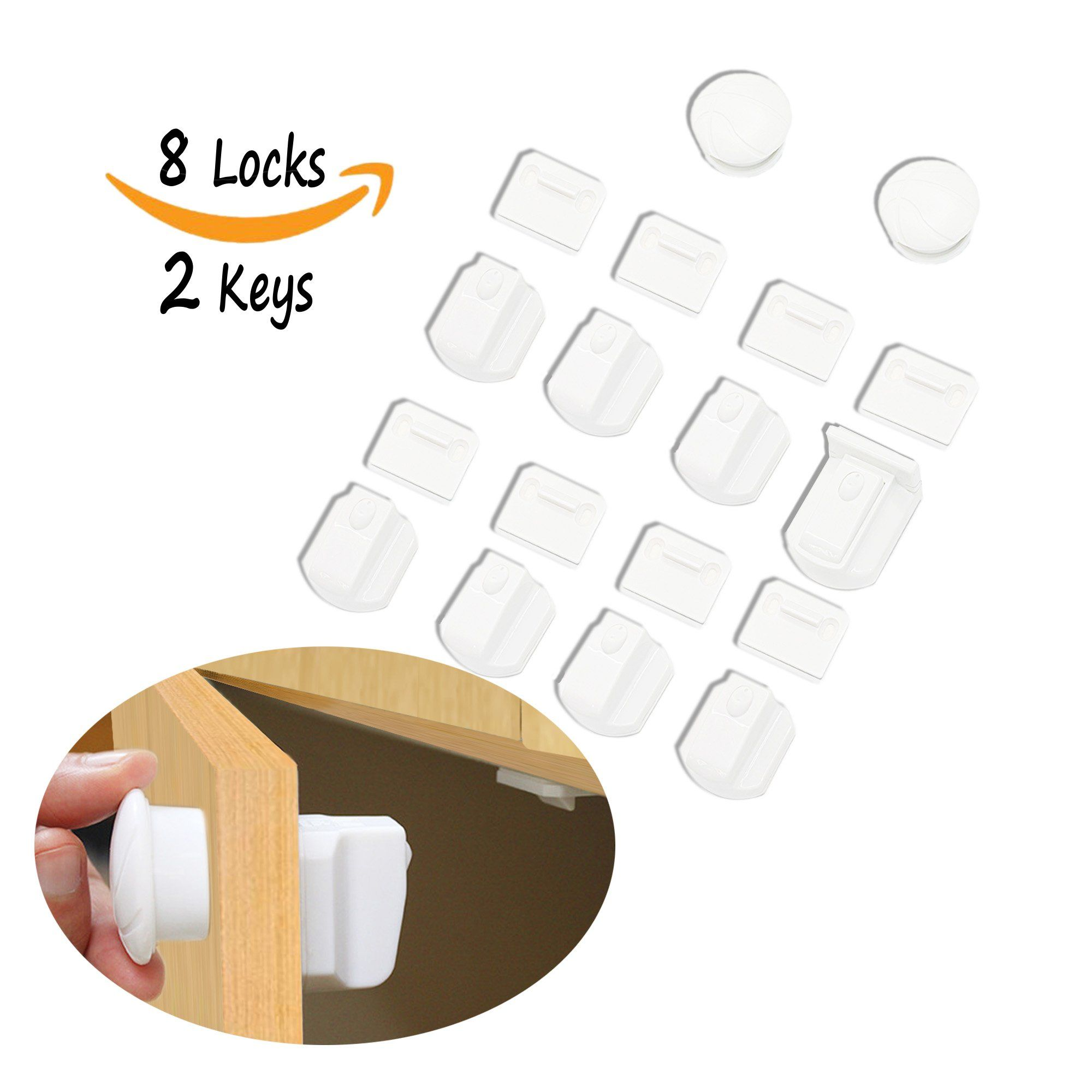 home knobs ez for baby handles child twist strap kiscords cupboard amazon com cabinets safety adhesive cabinet dp latches locks proofing
